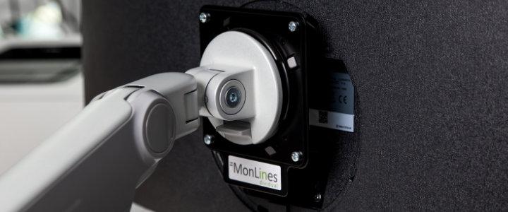 MonLines VESA Adapter Samsung Monitorhalterung