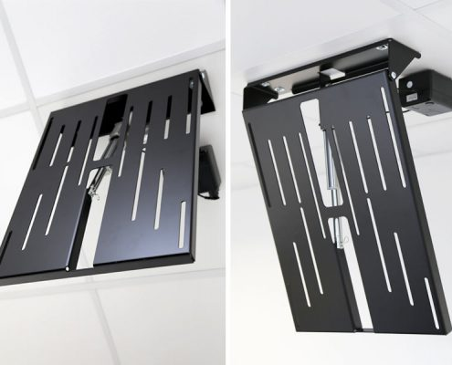 MonLines electric ceiling lift, mMotion Flip black