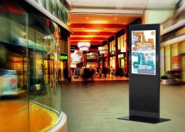 MonLines Design Display Stelen Infotafel