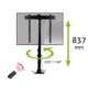 MonLines MLS007B myTVLift built-in TV lift 37-65 inch, 837 mm stroke, black