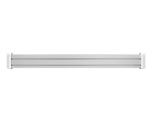 MonLines MSH001 1m Slatwall Wandhalterung, silber