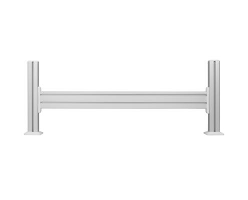 MonLines MSH002 1m Slatwall Tischhalterung, silber