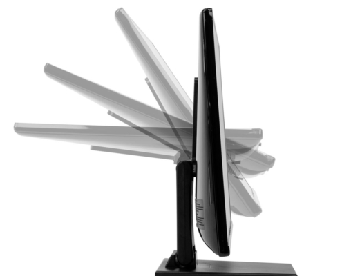 MonLines MTS700B Touchscreen Tisch Ständer, Neigung an Vesa