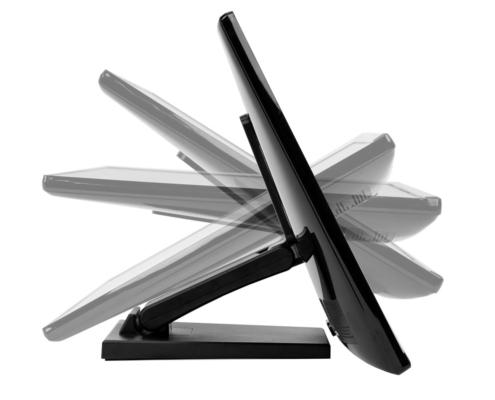MonLines MTS700B Touchscreen Tisch Ständer, Neigung am Standfuß