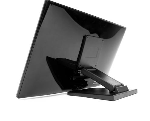 MonLines MTS700B Touchscreen Tisch Ständer, Rückansicht