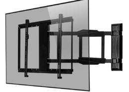 MonLines mySwing MSM05 elektrische TV Wandhalterung 50-70 Zoll, schwarz