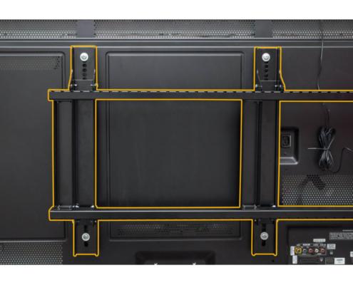 MonLines mySwing MSM06 elektrische TV Wandhalterung bis 65 Zoll, VESA Schiene