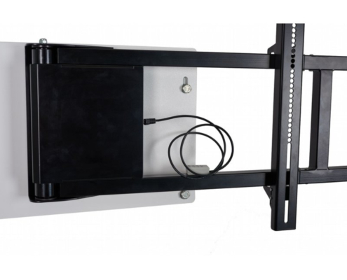 MonLines mySwing MSM06 elektrische TV Wandhalterung bis 65 Zoll, WLAN Adapter optional