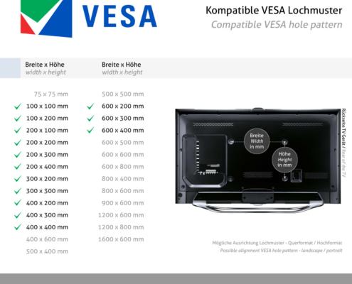 MonLines mySwing MSM06 elektrische TV Wandhalterung bis 65 Zoll, VESA Standard