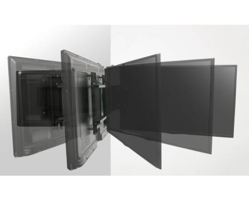 MonLines mySwing MSM06 elektrische TV Wandhalterung bis 65 Zoll, Schwenkbereich