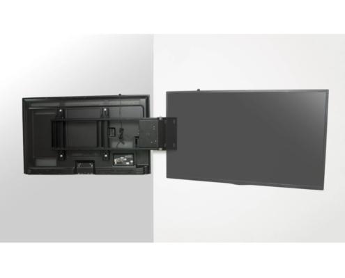 MonLines mySwing MSM06 elektrische TV Wandhalterung bis 65 Zoll, ausgeklappt