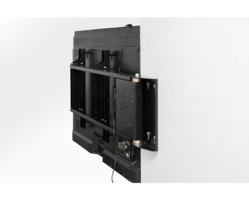 MonLines mySwing MSM06 elektrische TV Wandhalterung bis 65 Zoll, TV Rückseite