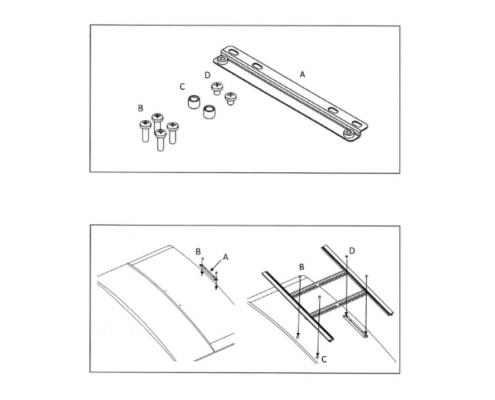 MonLines V050 VESA adapter kit for LG OLED EG asymmetrical VESA assembly instructions